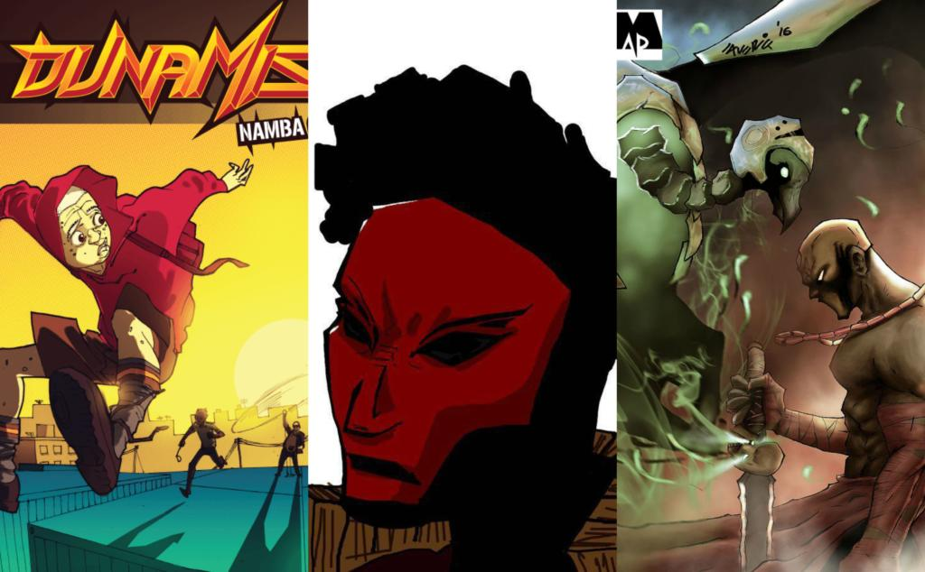 Dunamis, Razor Man, Oro comics featured in Kugali Mag