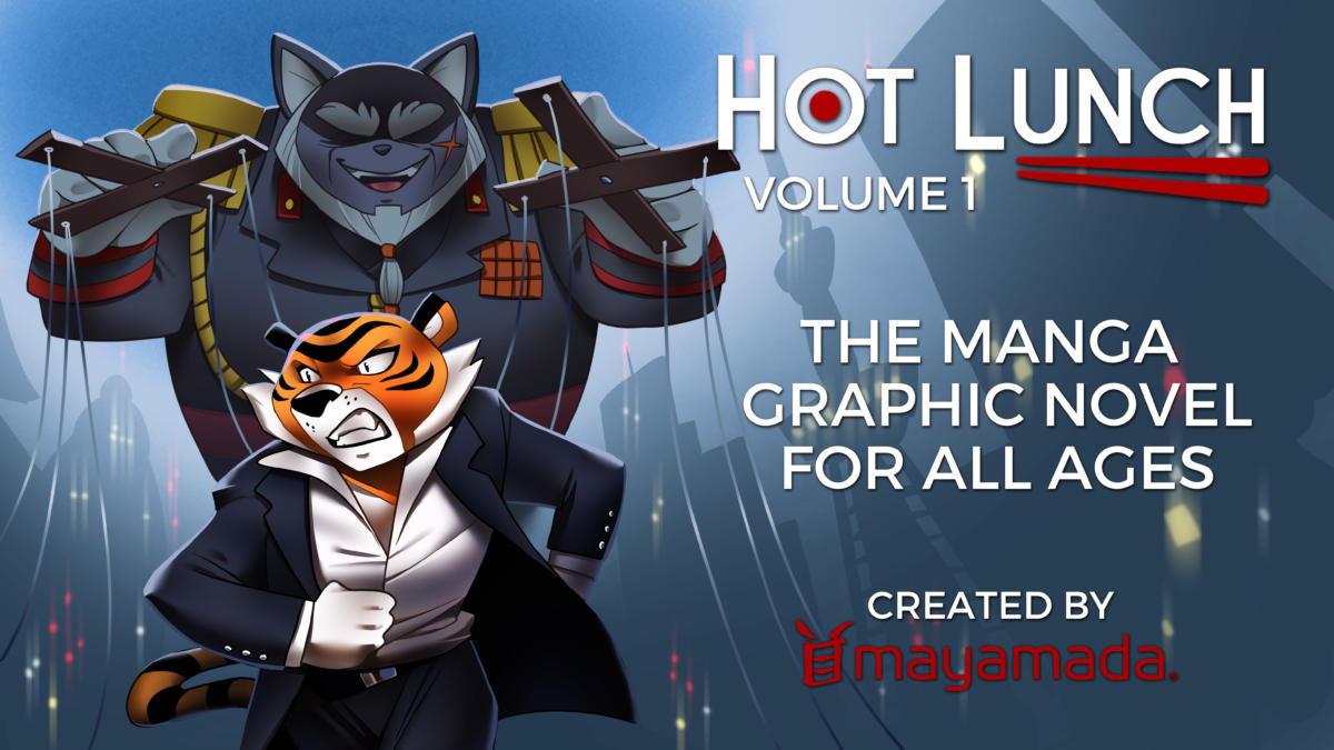 Check Out Hot Lunch: The Manga-Styled Graphic Novel For All Ages