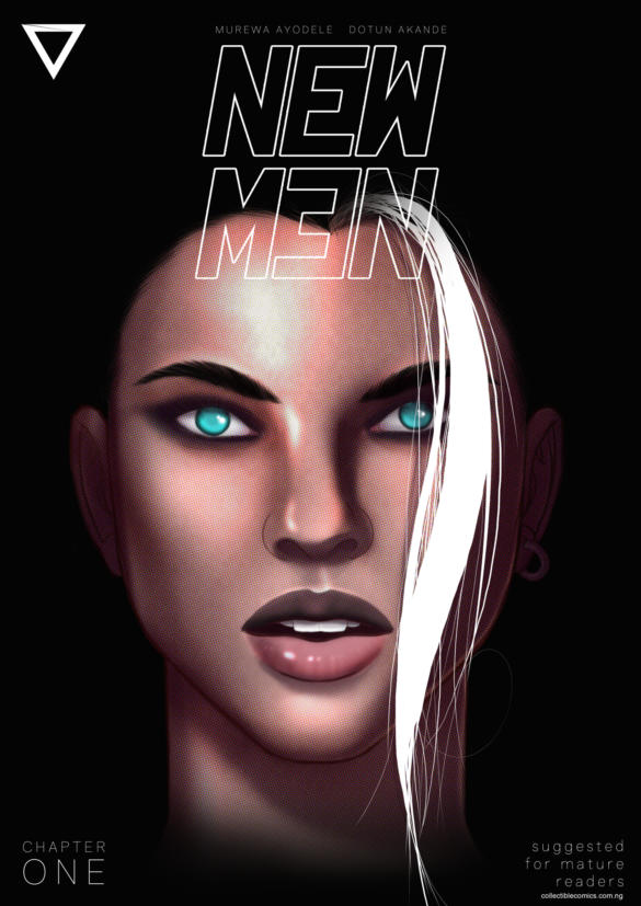 New Men comic book cover by Collectible Comics Nigeria