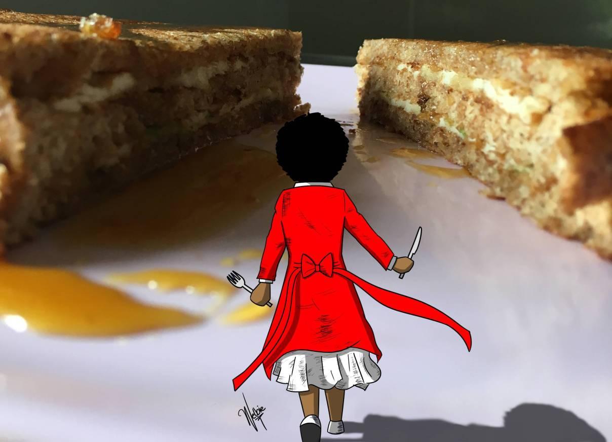 Breakfast Samurai by Welbie