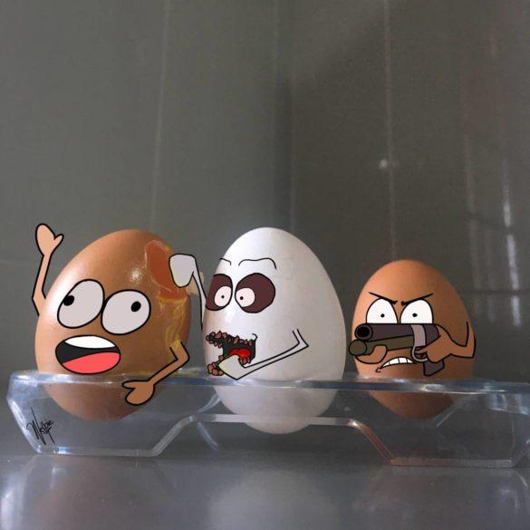 Egg Pocalypse by Welbie