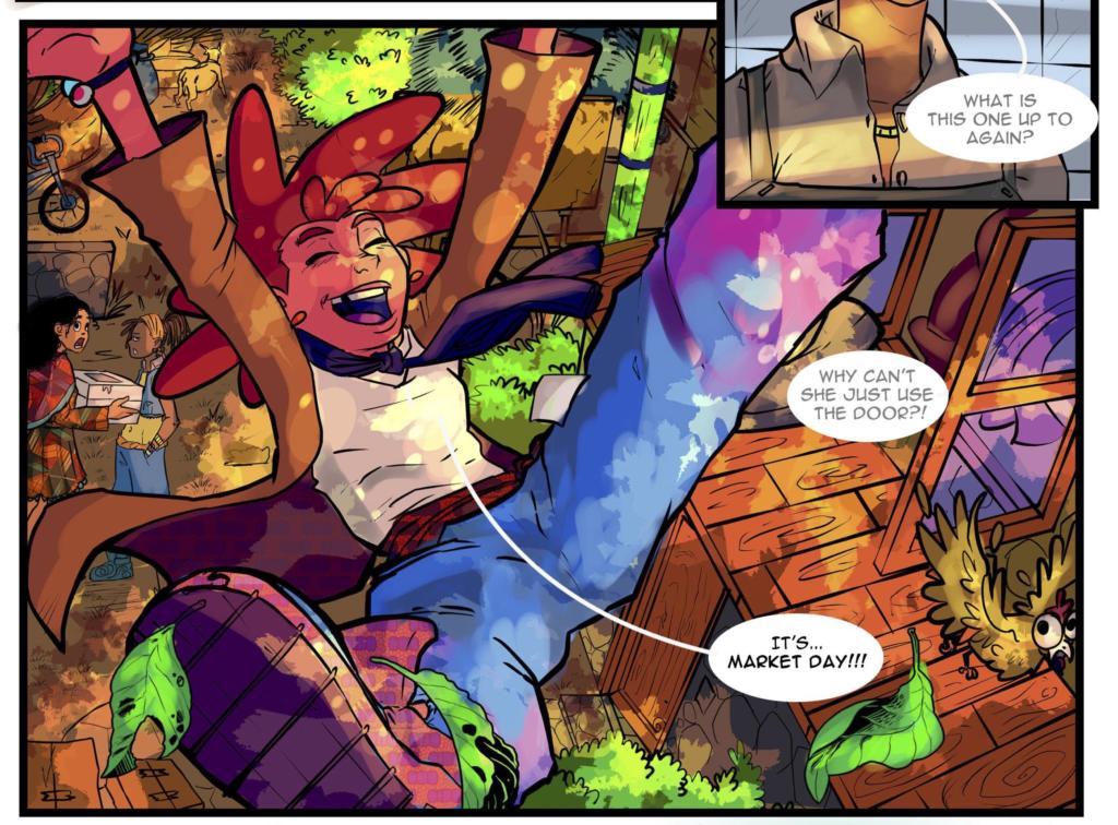Tatashe African Fantasy comic book