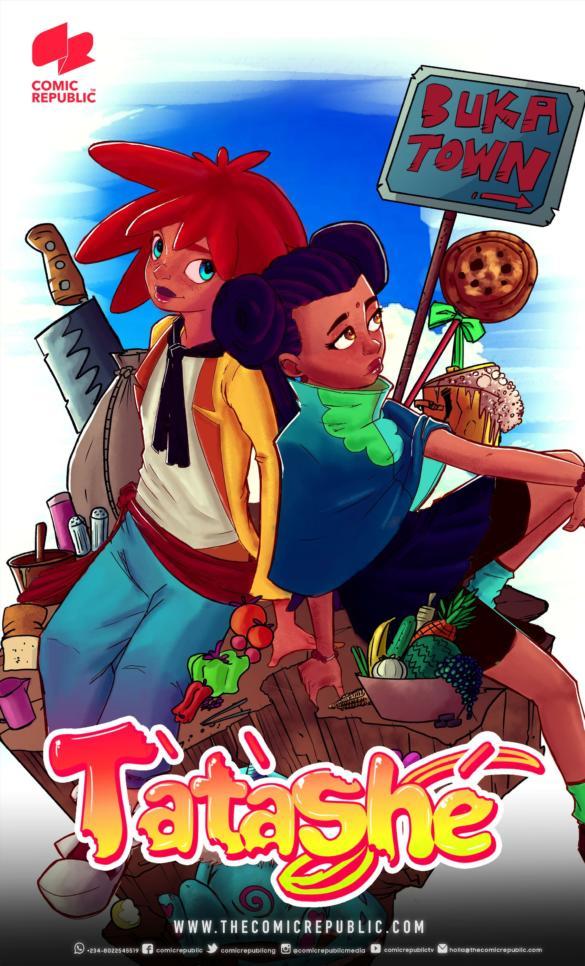 Tatashe alternative comic cover