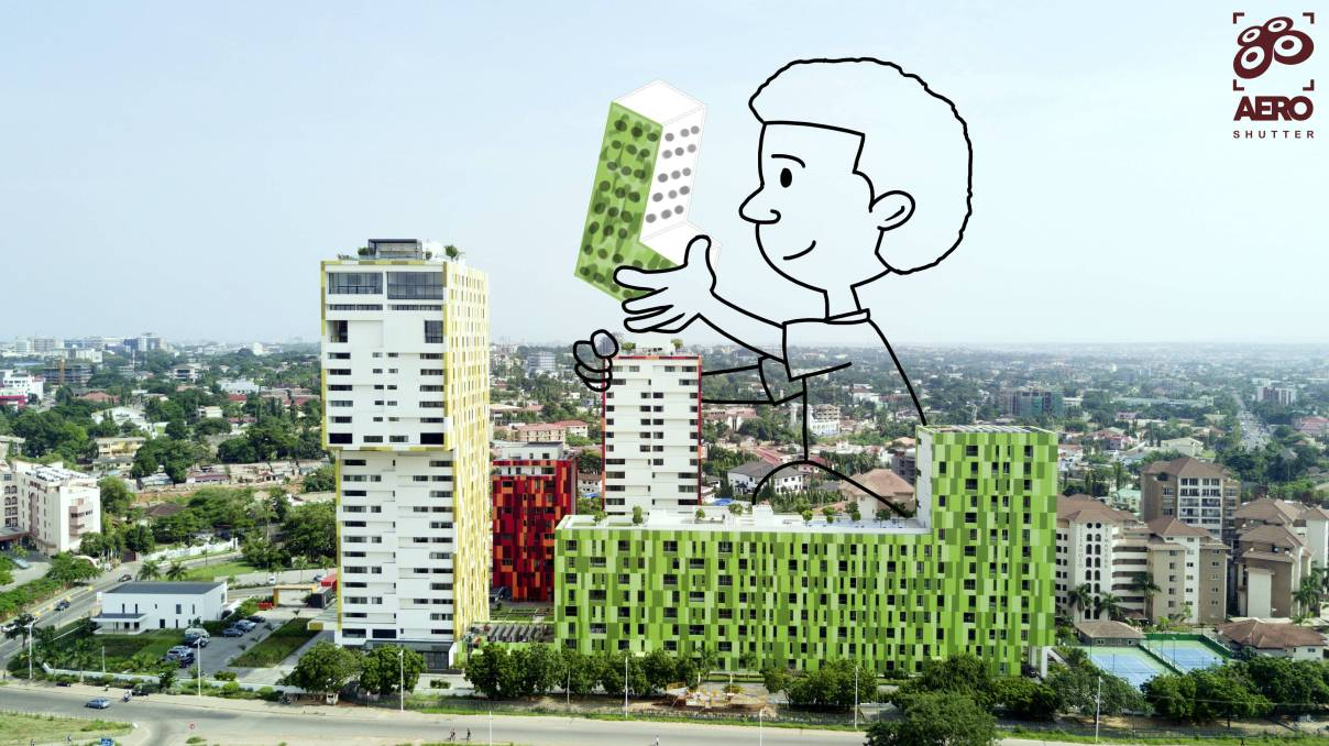 Accra doodle by Welbie