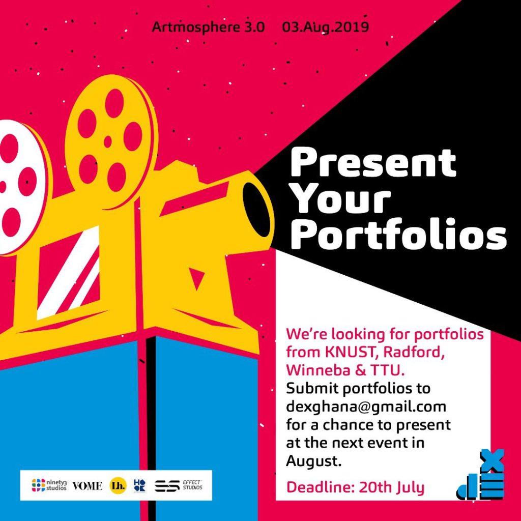portfolio reviews at dex artmosphere 3.0