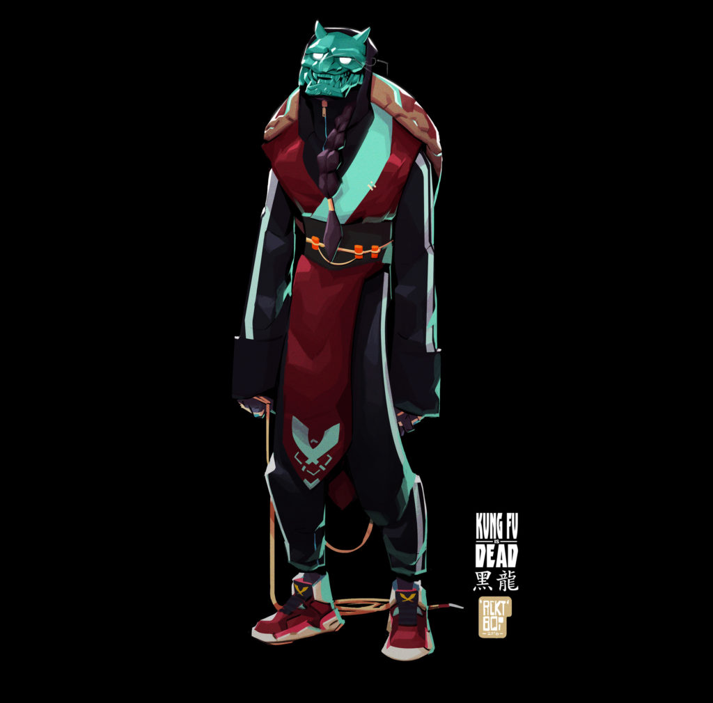 Red Lotus Agent. Character design for Kung Fu is Dead by Malcolm Carter Wope
