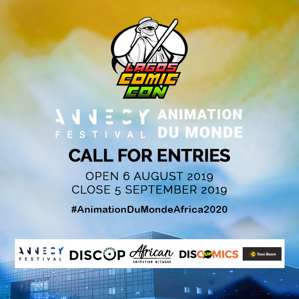 Lagos Comic Con annecy call for entries