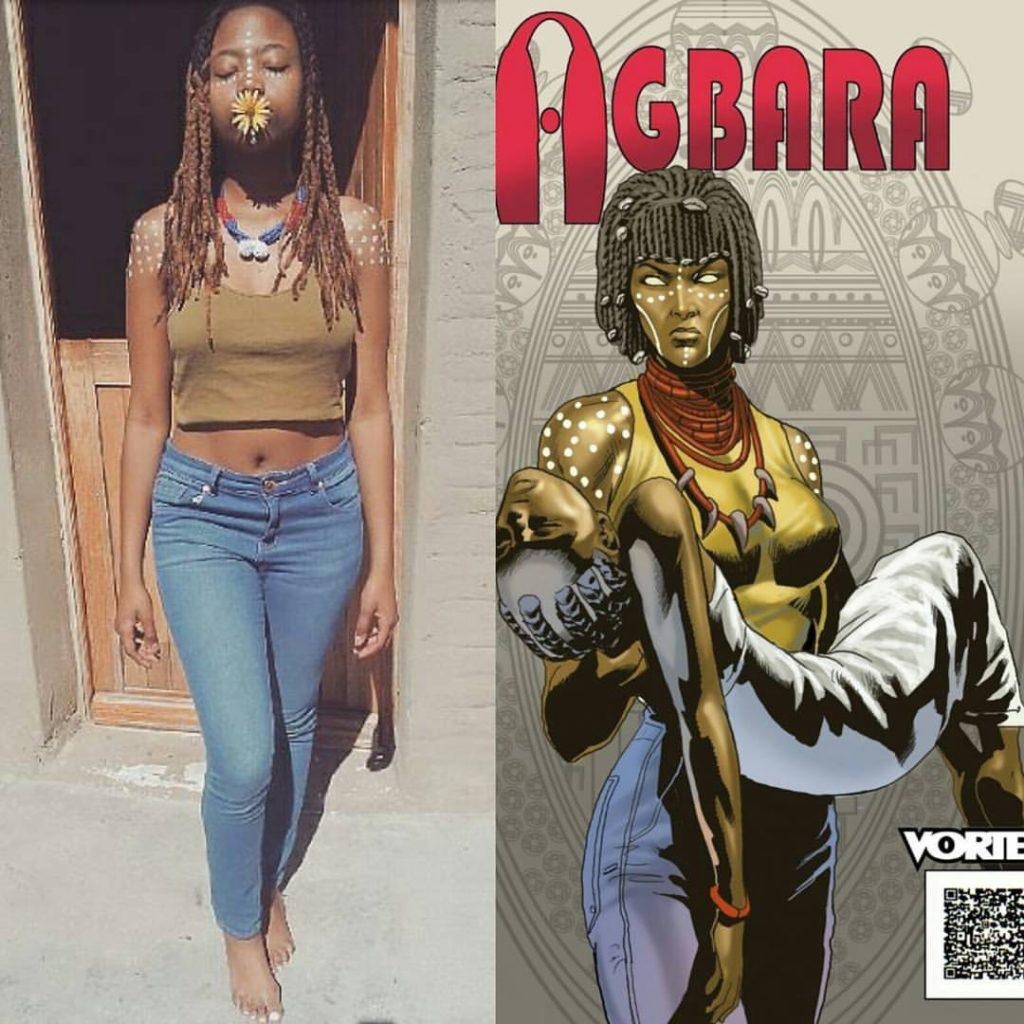 Agbara cosplay by Siya Manikivana from South Africa