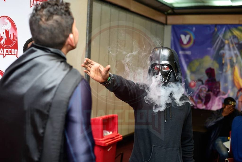 Darth Vader cosplay at NIACCON 2019