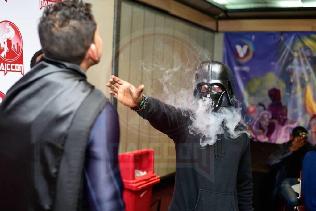 Darth Vader cosplay at NIACCON 2019