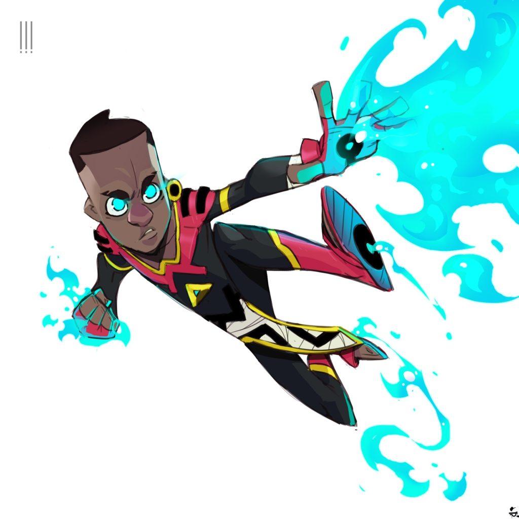 Flame by Simangaliso Sibaya. Costume by Ntsako Terence Maluleke