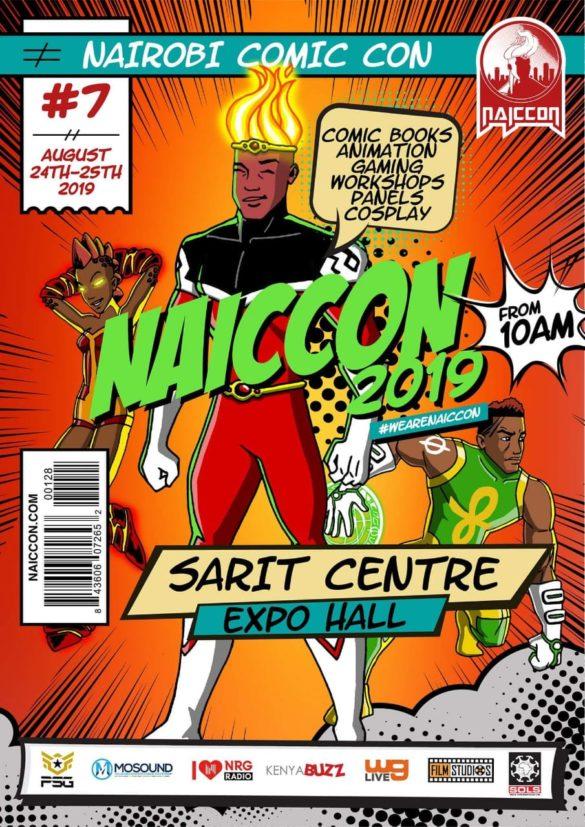 Nairobi Comic-Con 2019 poster