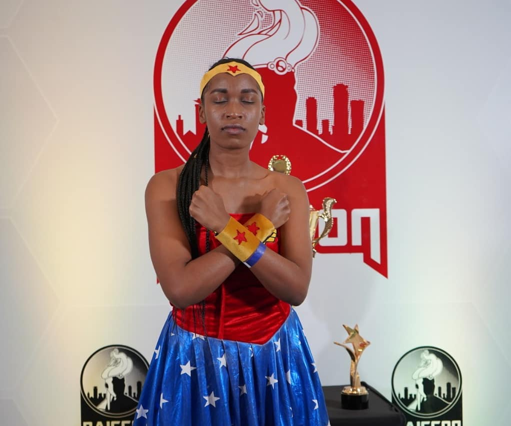 Wonder Woman cosplay at Nairobi Comic-Con 2019