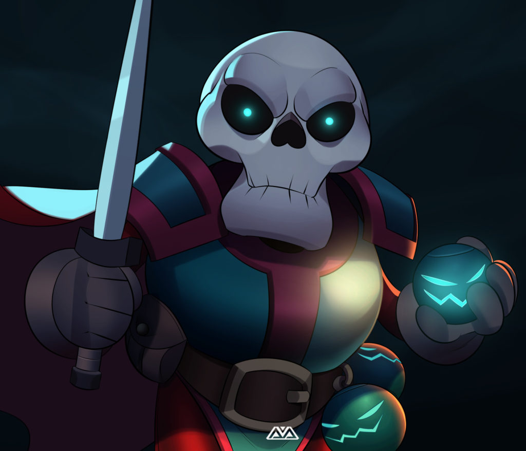 Skull Knight by Alfred Achiampong