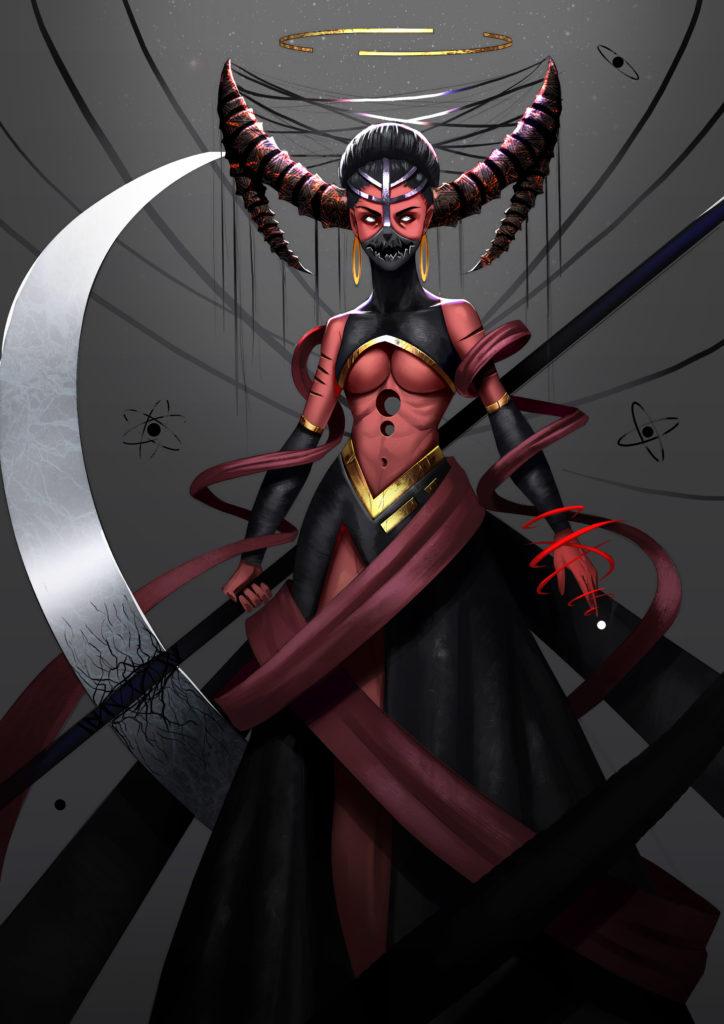 God of Wrath by Venus Bambisa