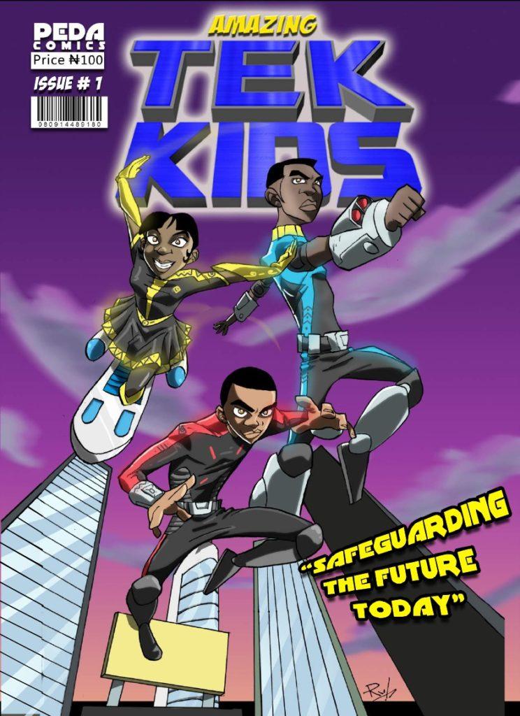 Amazing Tek Kids free African comic
