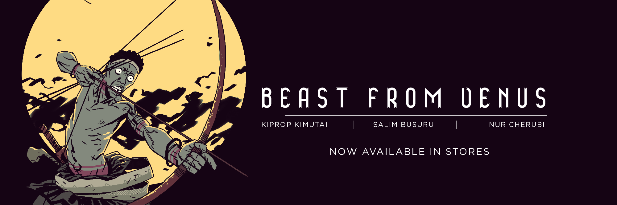 Beast from Venus social media cover photo