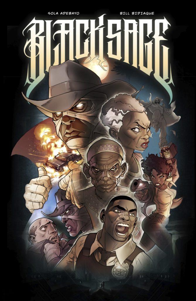 Black Sage The Rising free Nigerian comic