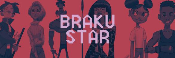 Kofi Ofosu header on artstation featuring 6 character designs