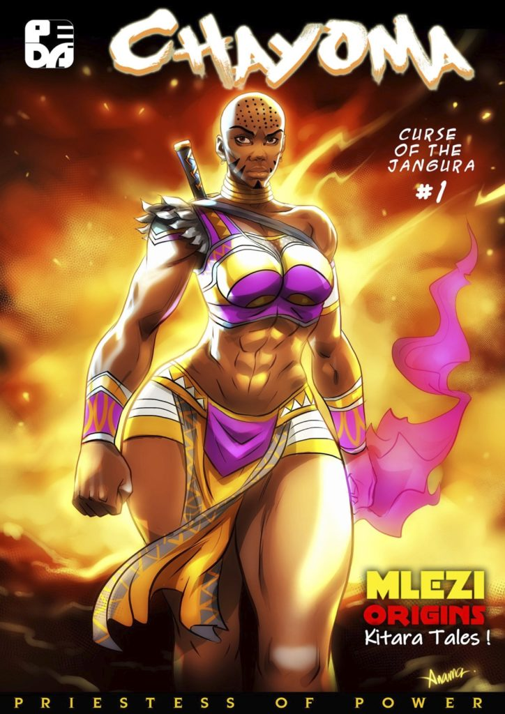 Chayoma African comic cover by Peda Comics