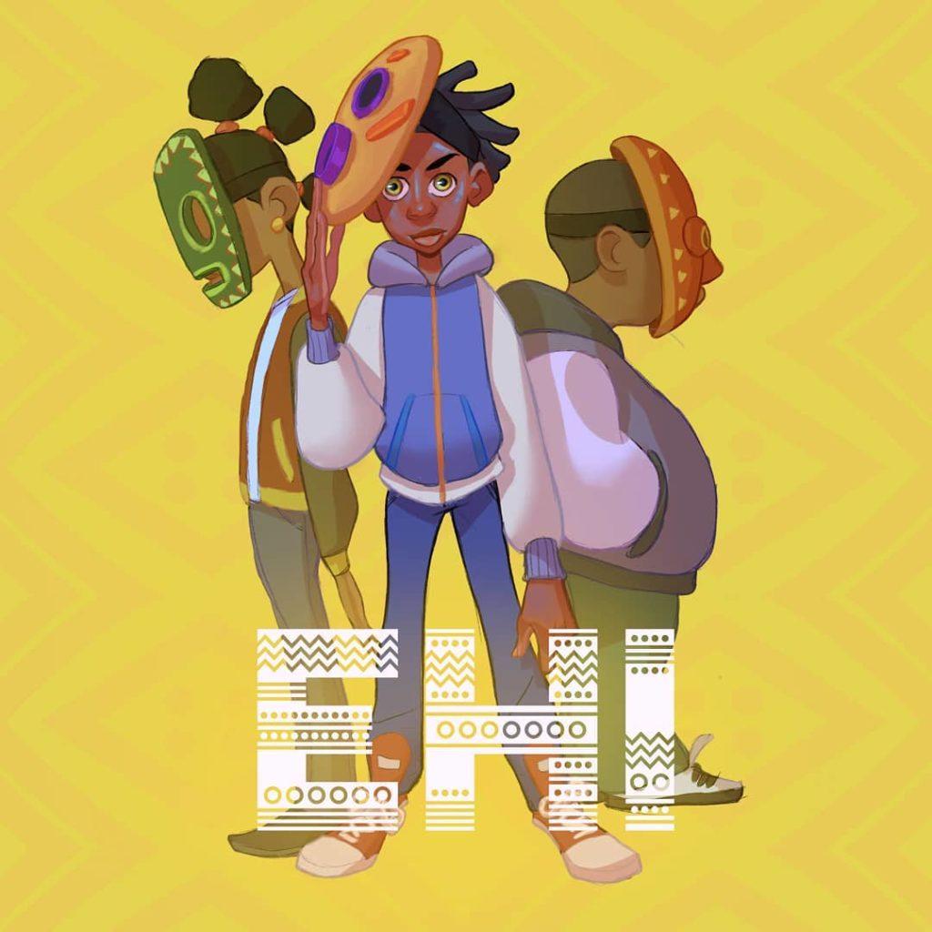Ehi character designs by Kofi Braku Star Ofosu
