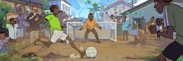 Google Doodle 2018 by Ifesinachi Orjiekwe and Harrison Yinfaowei Tombra