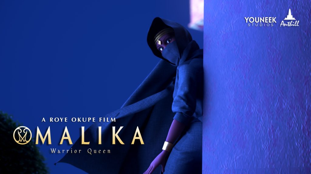 Malika Warrior Queen animated pilot at Lagos Comic-Con