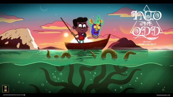 Into the Odd by Moshood Ridwan Shades, winner of pan-African Animation du Monde 2019 at ICON CGC