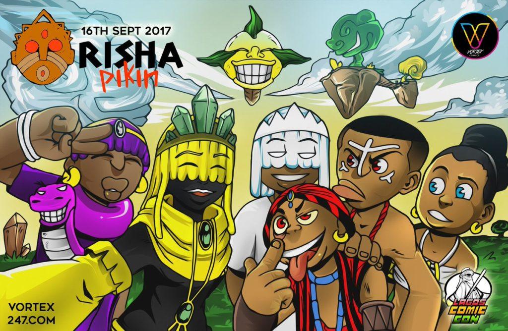 Orisha Pikin by Kiyindou Yamakasi