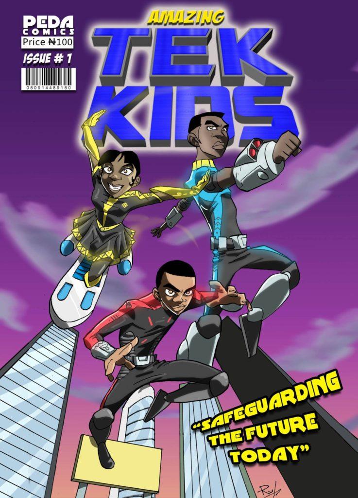 The Amazing Tek Kids by Peda Comics