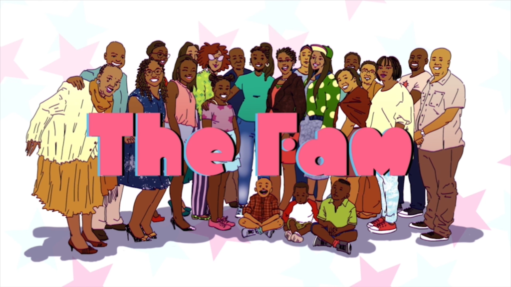 The Fam by Kabelo Maaka