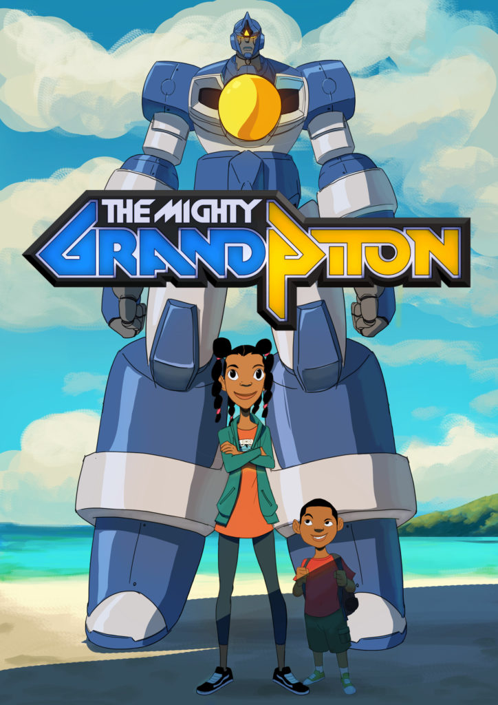 Fanart of The Mighty Grand Piton, an upcoming animated project directed by Wesley Louis for The Line Animation. Illustration by Braku Star