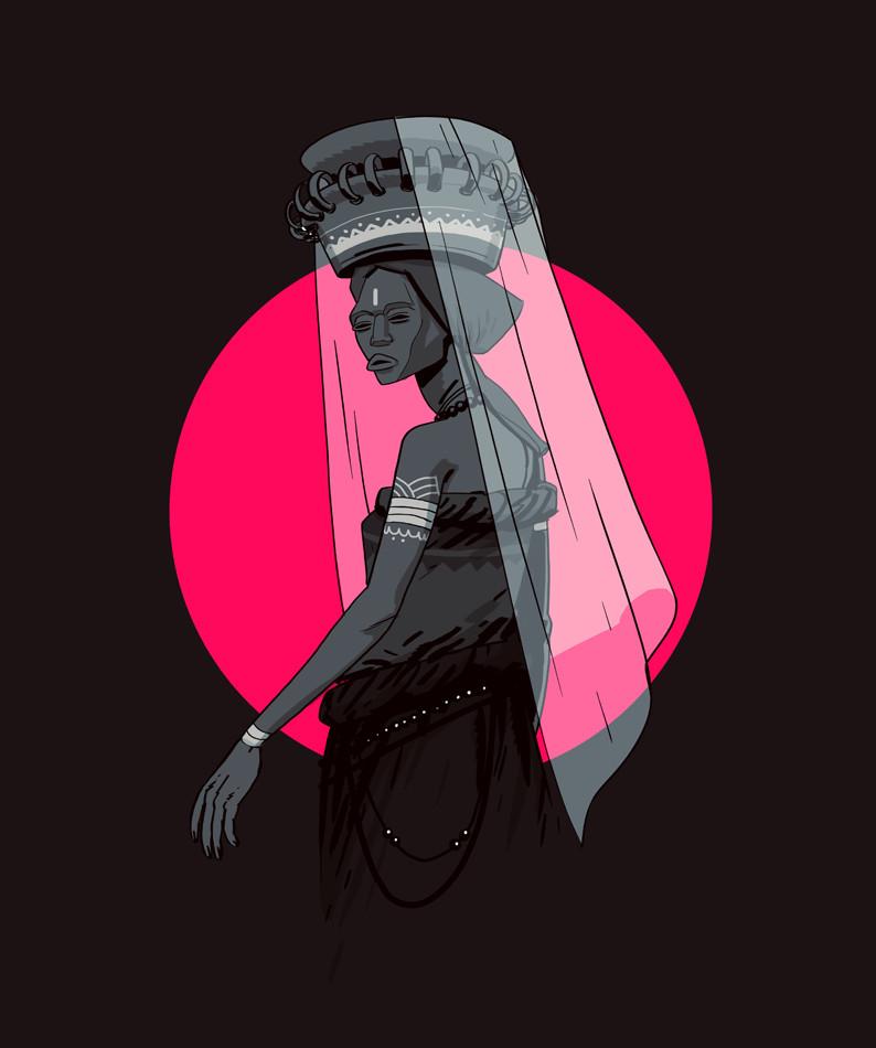 The Widow by Salim Busuru for Avandu Vosi