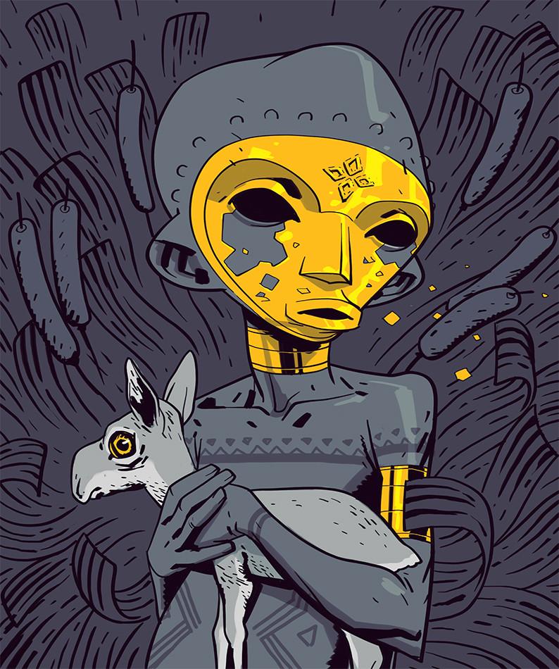 Golden Child by Salim Busuru