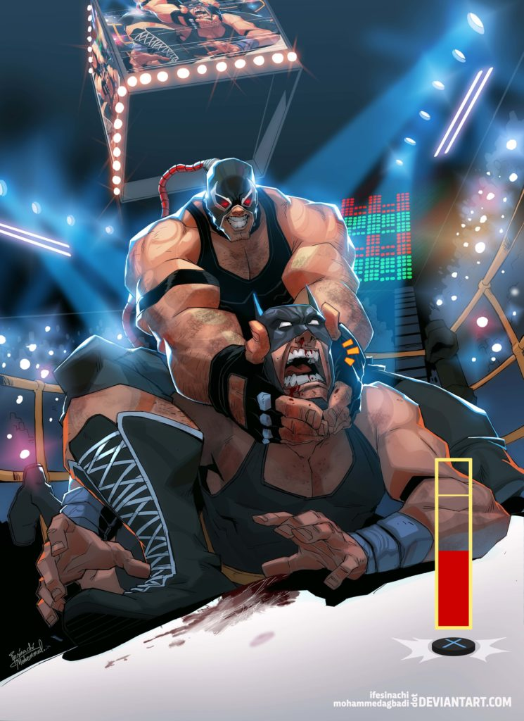 Hold On Bats (Bane vs Batman) by Ifesinachi Orjiekwe & Mohammed Agbadi