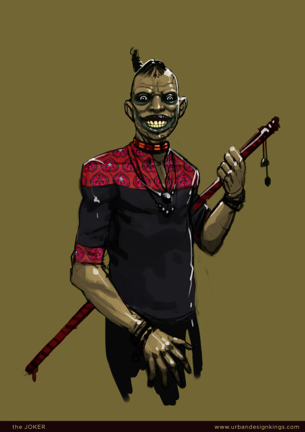 African The Joker by Salim Busuru Avandu Vosi