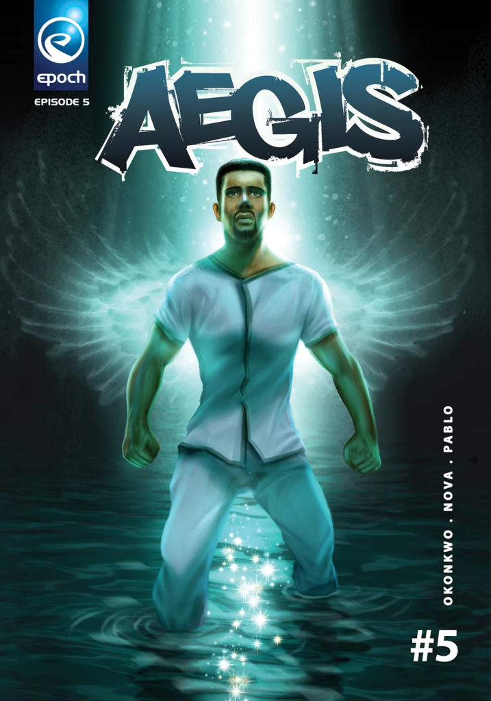 Aegis by Epoch Comics. One of the Lagos Comic-Con winners in 2019