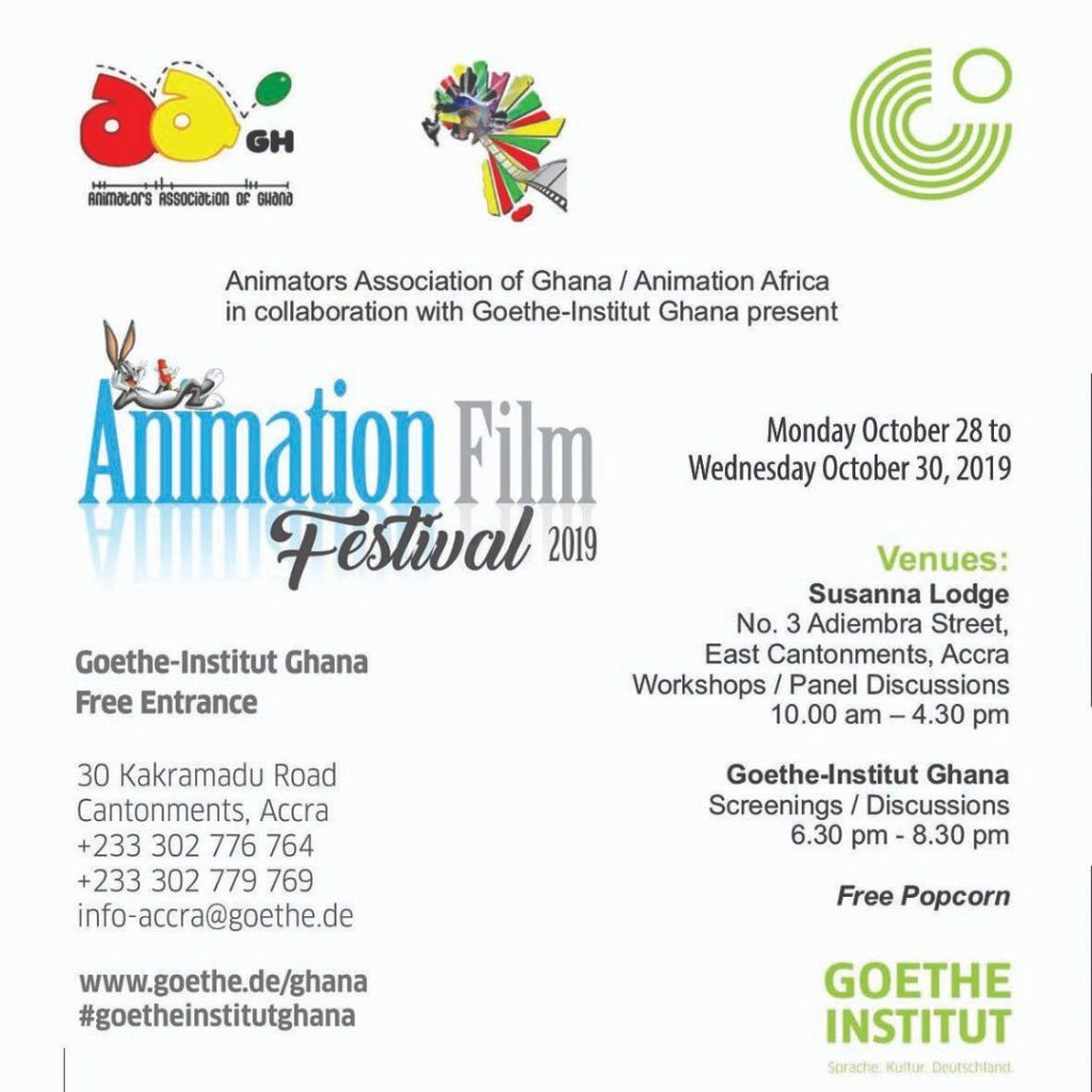 AnimateGH Animation Film Festival 2019