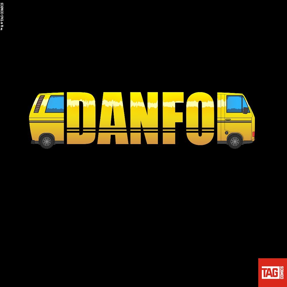 Danfo comic by TAG comics. NOMMO Awards 2020 nominee