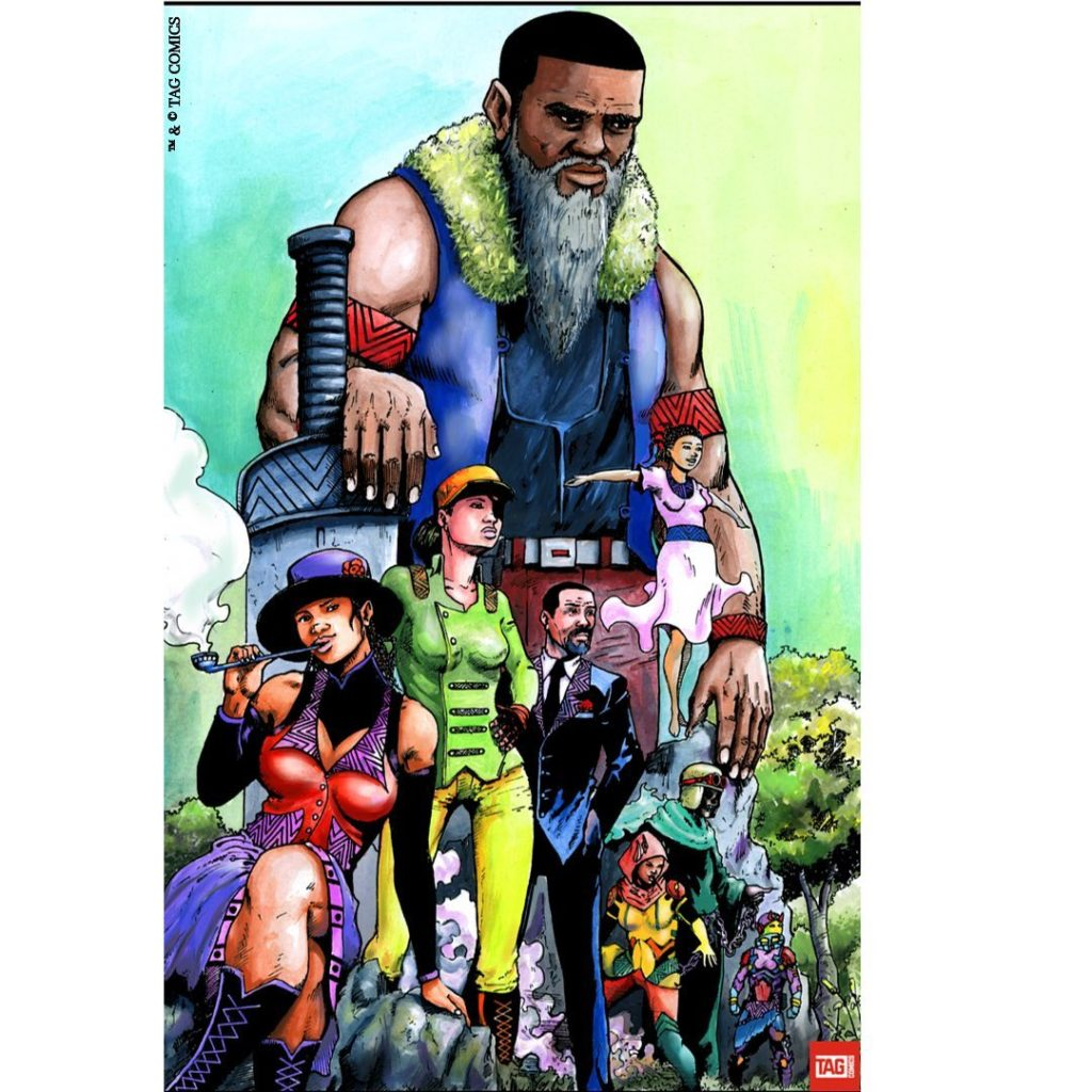 Irawo Mejo from Danfo by TAG Comics