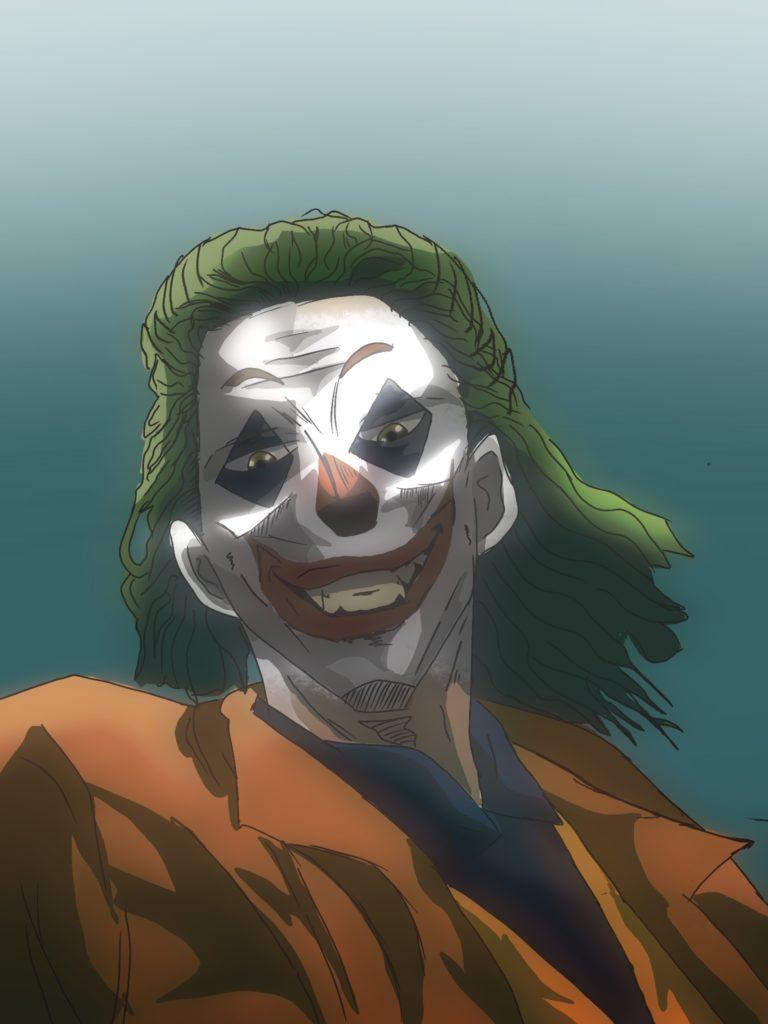 Joker fan art by Rodney Tawanda Ngundu