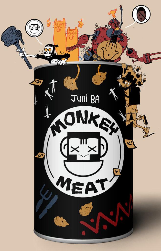 Monkey Meat one shot comic by Juni