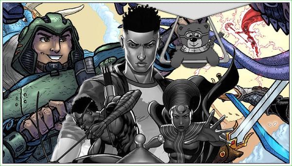 South African Comics as seen on Brain Wavez