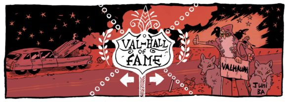 Val-hall of fame by Juni Ba