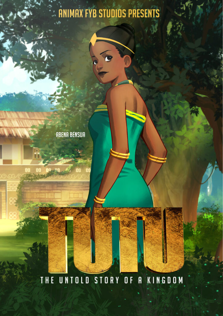 Abena Bensua character from Tutu: An Untold Story of a Kingdom