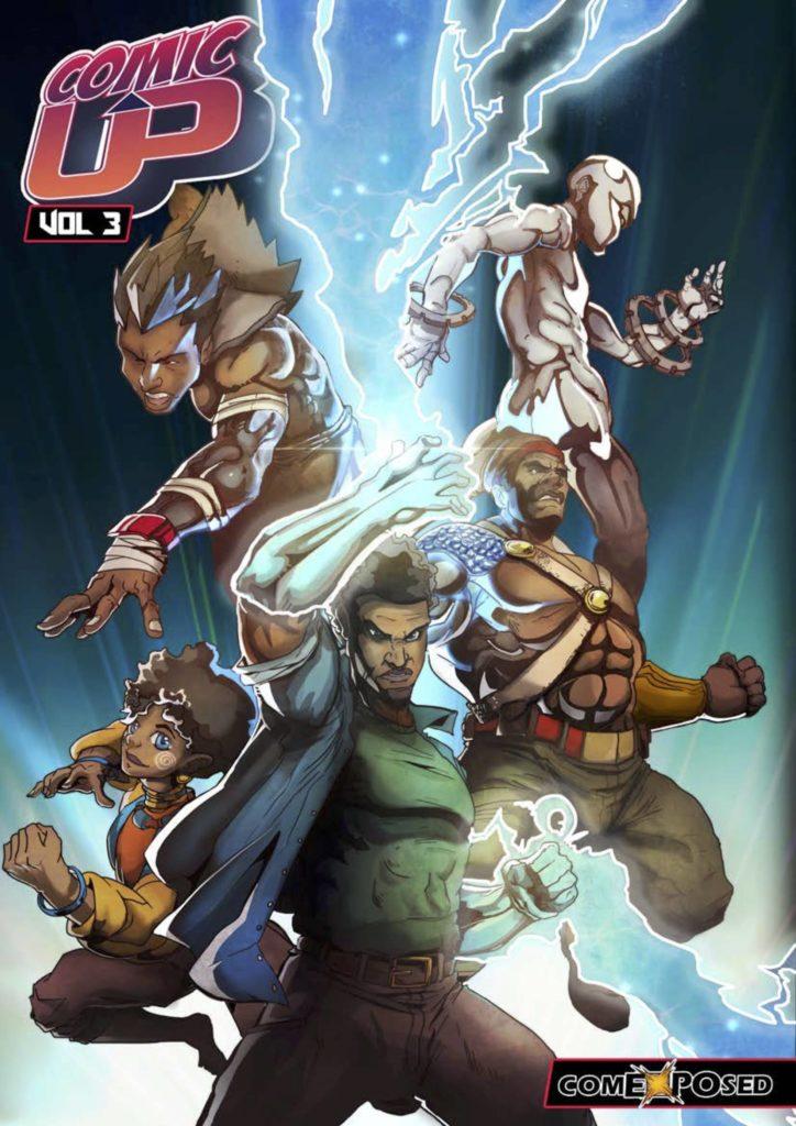 ComicUp vol 3 Zimbabawe - African comic anthology