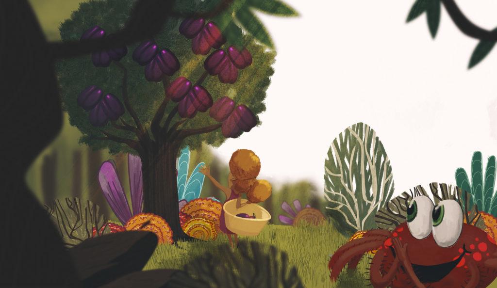 Ekuba and Spidey: Honey Tree children's book.