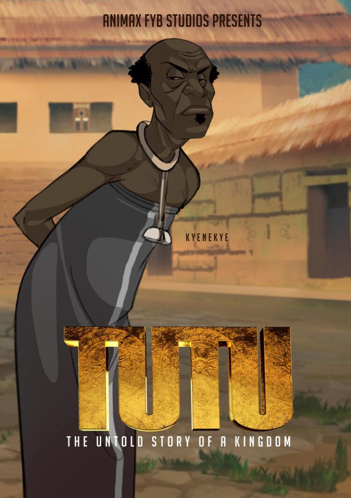 Kyenekye character in Tutu an Untold Story of a Kingdom