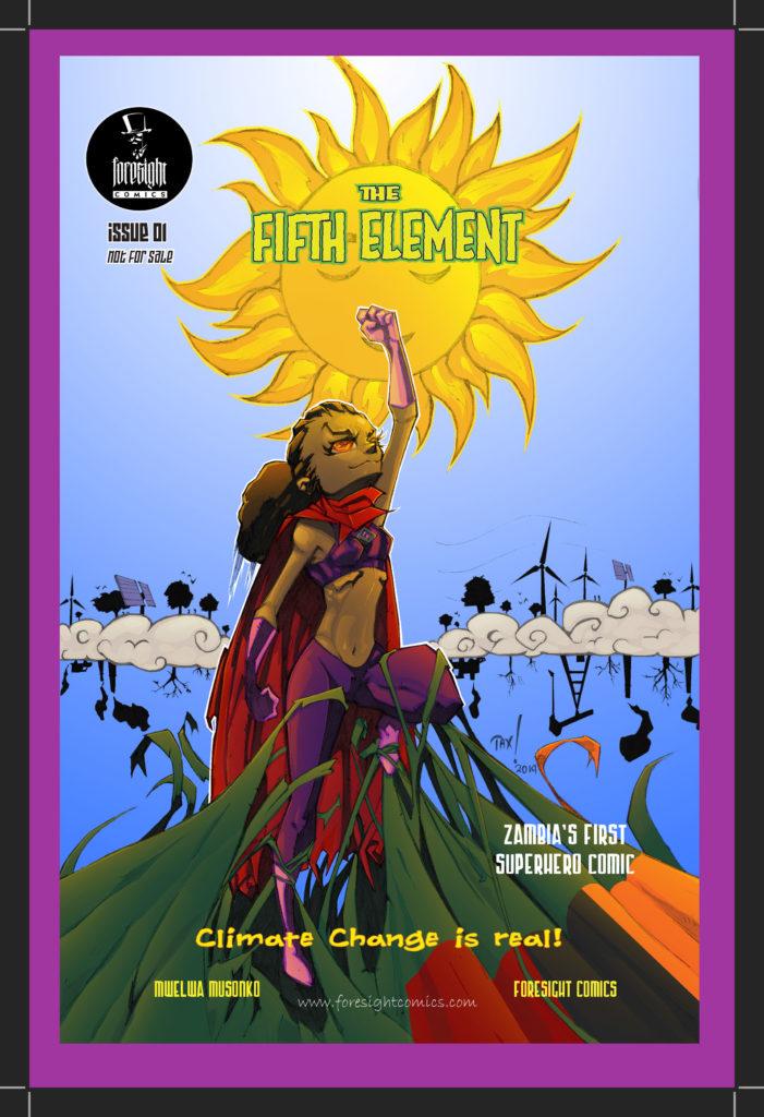 The Fifth Element Zambian comic