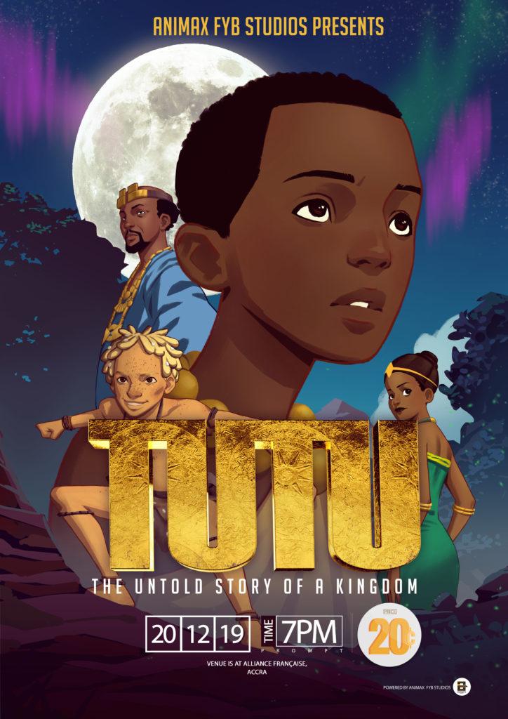 Tutu An Untold Story of a Kingdom AnimaxFYB Studios